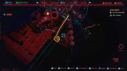 Cyberpunk 2077 - Go to the drop point