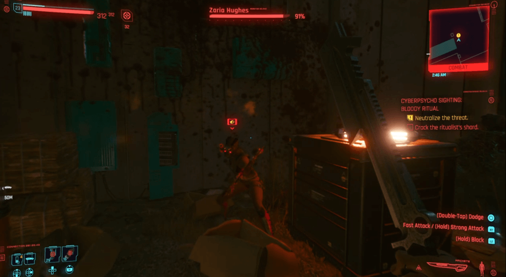 Cyberpunk 2077 Cyberpsychosis Sighting - Bloody Ritual 02.png