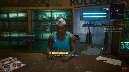 Cyberpunk 2077 - Go to the butcher shop