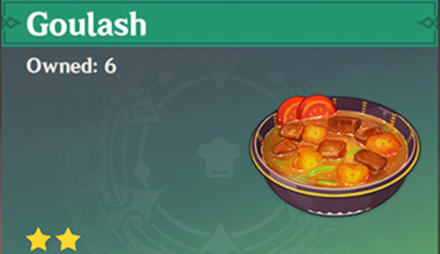 How to Get Goulash and Effects