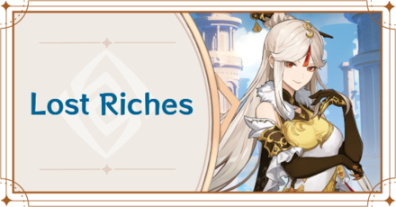 Genshin Impact - Lost Riches Banner