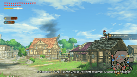 Hyrule Warriors: Age of Calamity - Mabe Village