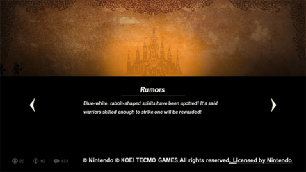 Hyrule Warriors: Age of Calamity - Blupee Loading Screen