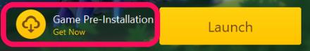 Genshin - Pre-Installation Button