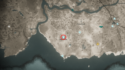 Cairn Mystery High Rocks Suthsexe Location (AC Valhalla) - Map View.png