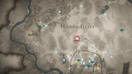 Cairn Mystery Heald Tor Hamtunscire Location (AC Valhalla) - Map View.png