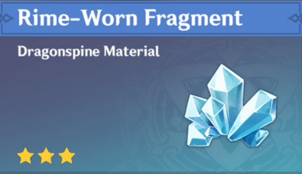 How to Get Rime-Worn Fragment and Effects