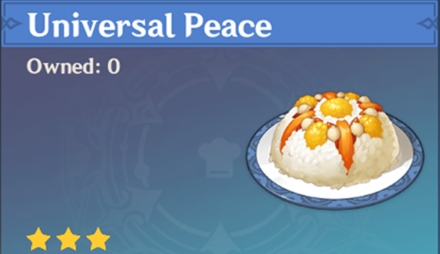How to Get Universal Peace and Effects