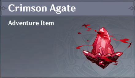 How to Get Crimson Agate and Effects