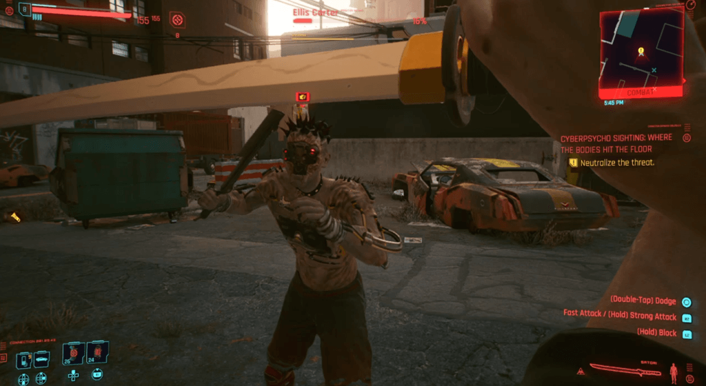 Cyberpunk 2077 Cyberpsychosis Sighting Where The Bodies Hit The Floor 02.png