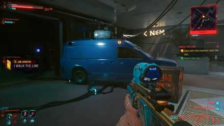 Cyberpunk 2077 - Find the Van