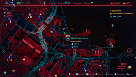 Cyberpunk 2077 - Go to the parking lot