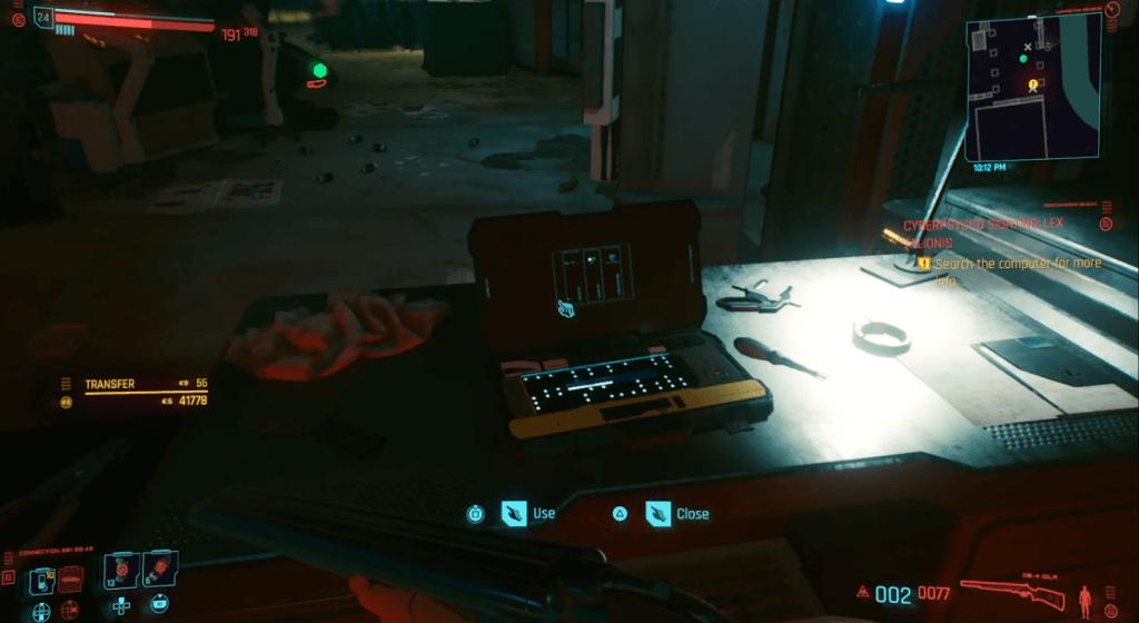 Cyberpunk 2077 Cyberpsycho Sighting Lex Talionis 03.png