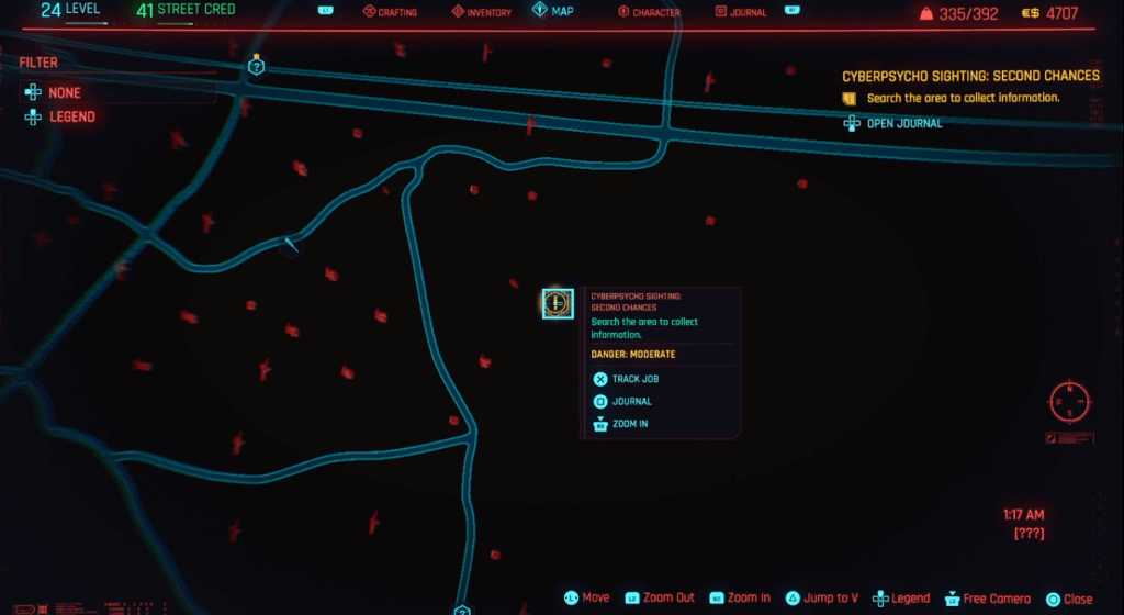 Cyberpunk 2077 Cyberpsycho Sighting Second Chances Map.png