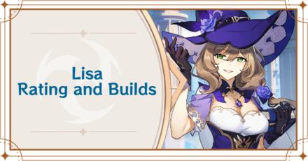 Genshin Impact - Lisa Banner
