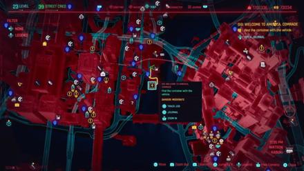 Cyberpunk 2077 - Go to the docks in Kabuki