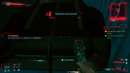 Cyberpunk 2077 - Plant the GPS tracker