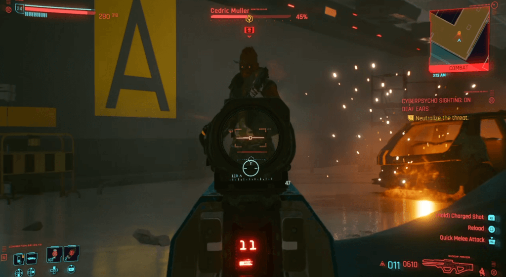 Cyberpunk 2077 Cyberpsycho Sighting On Deaf Ears 01.png