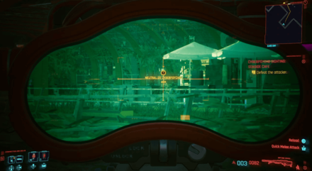Cyberpunk 2077 Cyberpsycho Sighting Seaside Cafe Top.png