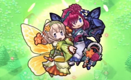 New Year Peony Duo Skill Animation