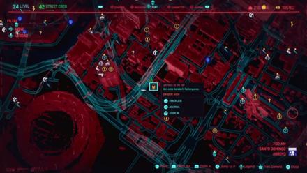 Cyberpunk 2077 - Get onto Kendachi factory area
