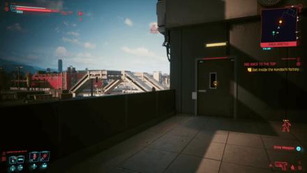 Cyberpunk 2077 - Get inside the Kendachi factory