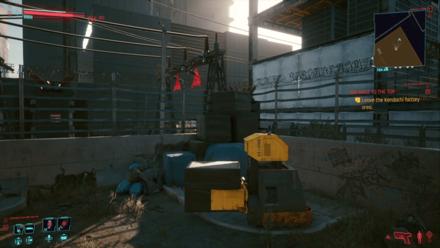 Cyberpunk 2077 - Leave the Kendachi factory