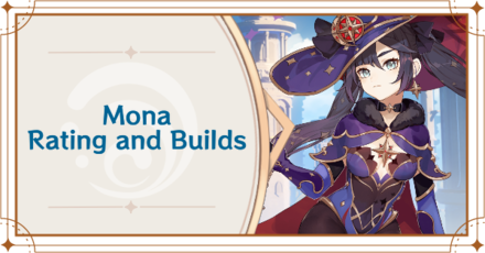 Genshin Impact - Mona Banner