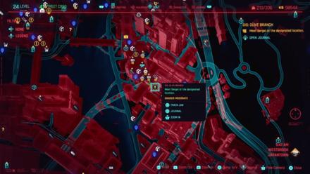 Cyberpunk 2077 - Meet Sergei at the designated location