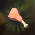 Raw Bird Drumstick Icon