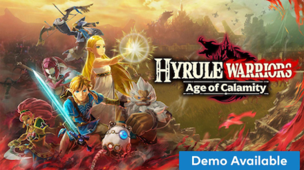 Hyrule Warriors: Age of Calamity Banner