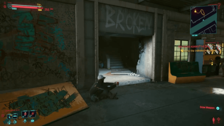 Cyberpunk 2077 - Go to the indicated residence