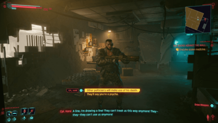 Cyberpunk 2077 - Talk to William Hare