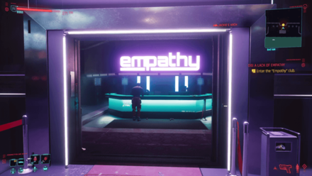 Cyberpunk 2077 - Enter Empathy club
