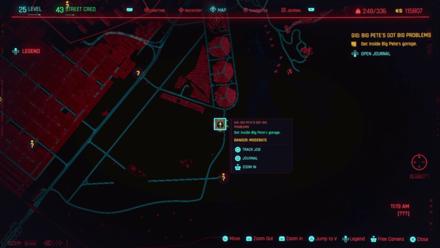 Cyberpunk 2077 - Get inside Big Pete
