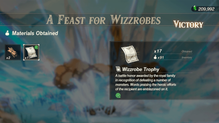 Hyrule Warriors: Age of Calamity - A Feast for Wizzrobes