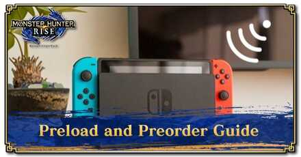 Preload and Preorder