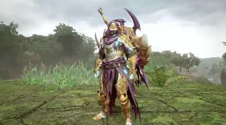 somnacanth armor Male