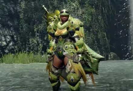 tetranodon armor female