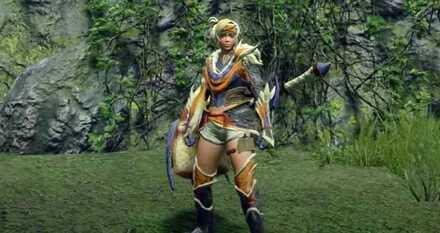 Great Izuchi Armor Female