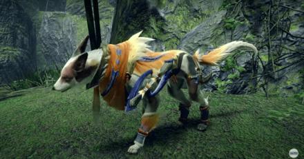 Great Izuchi Palamute Armor