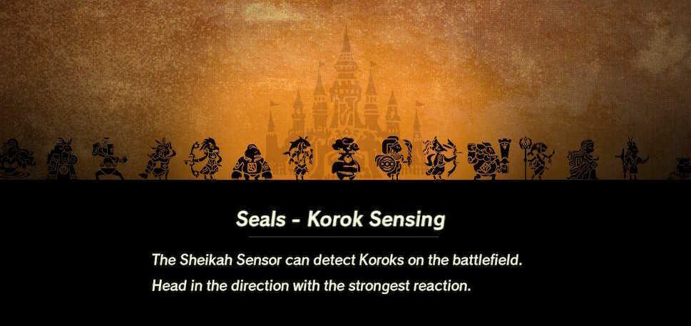 Korok Sensor Loading Screen