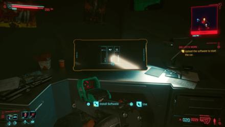 Cyberpunk 2077 - Upload software to start the car