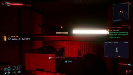 Cyberpunk 2077 - Take the shard