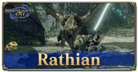 Rathian Basic Information and Armor Sets.png