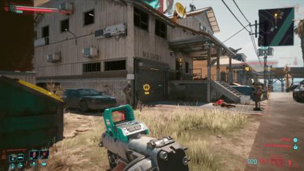 Cyberpunk 2077 - Enter the hideout