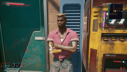 Cyberpunk 2077 - Bring Flavio to the nomad contact