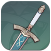 Genshin Impact - Silver Sword Image