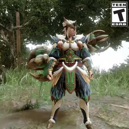 Bishaten Armor Male