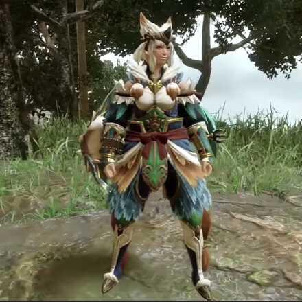 Bishaten Armor Female